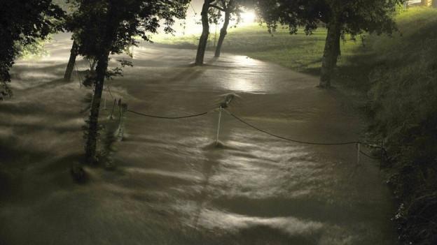 Der Kanton will das Suhretal mit einem Damm bei Staffelbach vor einem Jahrhunderthochwasser schützen.