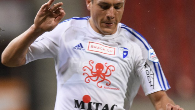 Ein Spieler des FC Wohlen.