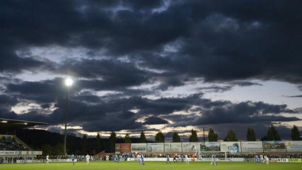 Das Stadion Niedermatte in Wohlen