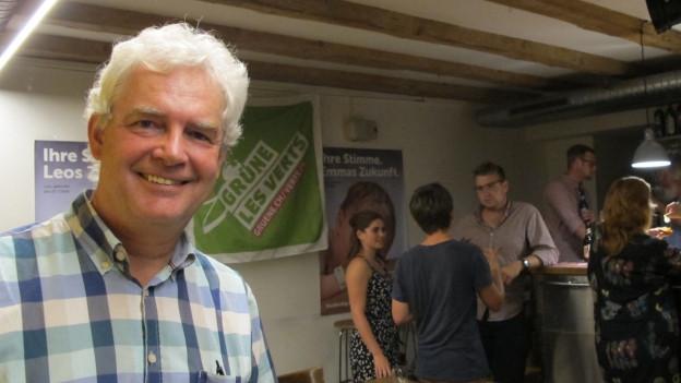 Felix Wettstein tritt nach 6 Jahren als Präsident der Solothurner Grünen zurück.