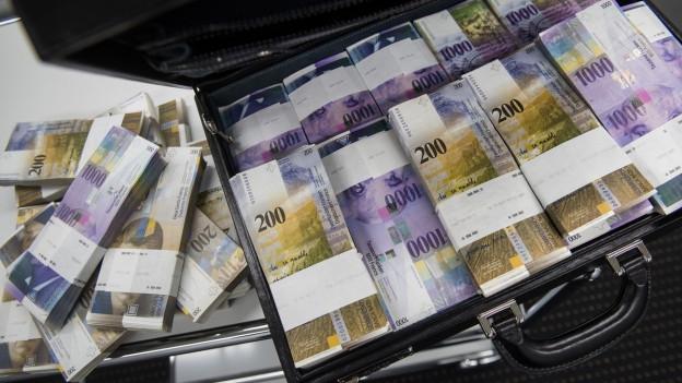 Freude über SNB-Millionen bei den Kantonen