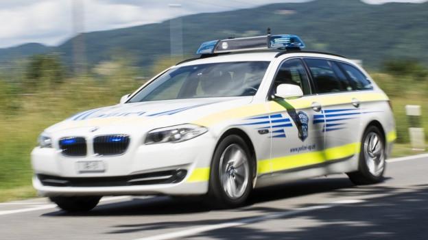 Polizeiauto der Kapo Aargau