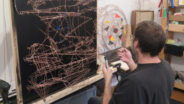 Alain Schartner hat schon über tausend Bahnen gebaut.