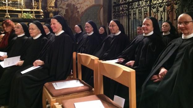 Im Kloster Fahr leben nur noch 20 Nonnen.