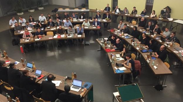 Für einmal hat das Stadtparlament von Baden wieder gesittet debattiert.