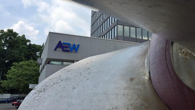 AEW-Hauptsitz in Aarau.