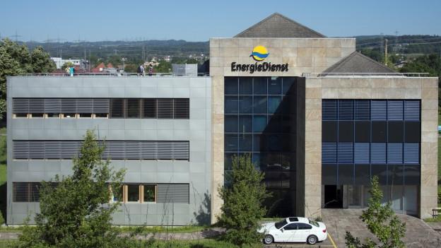 Hauptsitz der Energiedienst Holding AG in Laufenburg.