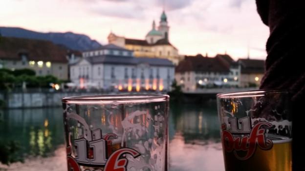 Die «Hafenbar» ist bisher die einzige Buvette in Solothurn.