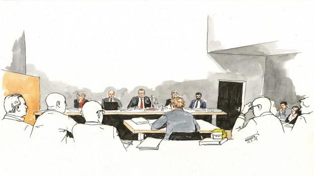 Der mutmassliche Vierfachmörder von Rupperswil gesteht vor Gericht seine pädophile Neigung.