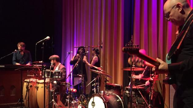 Konzert im Kulturhaus Royal.