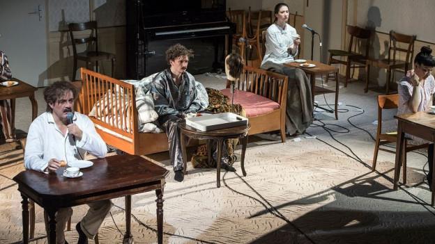 Das neue Stück des Theater Orchesters Biel Solothurn wird auch am Theater Dornach gespielt.