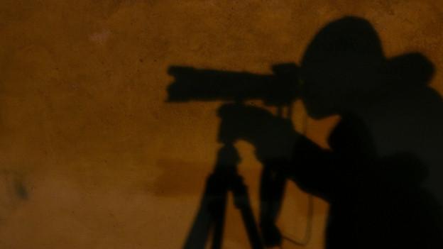 Schatten eines Fotografen