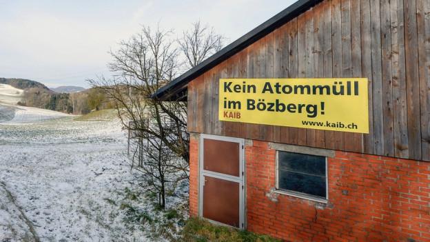 Kein Atommüll im Bözberg? Die Aargauer Regierung rechnet mit einem Lager, hat aber Forderungen.