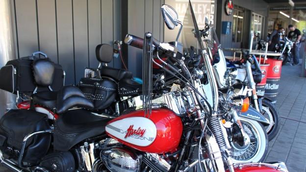 Das Harley-Herz im Kanton Aargau