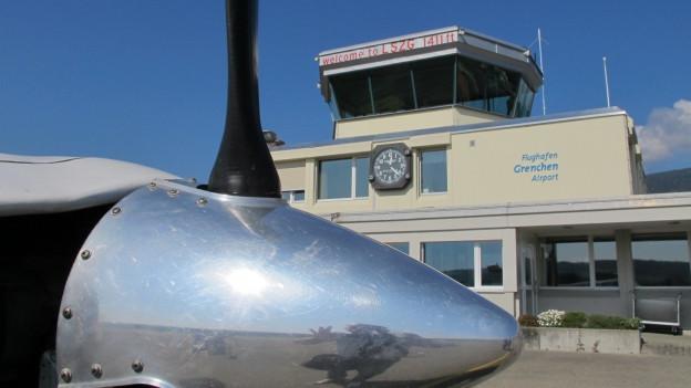 Der Flughafen Grenchen möchte ein flexibles System bei der Flugsicherung.