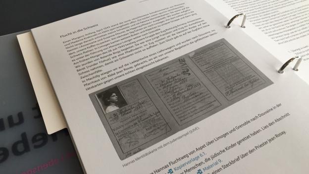 Das erste Holocaust-Lehrmittel der Schweiz für Primarschüler