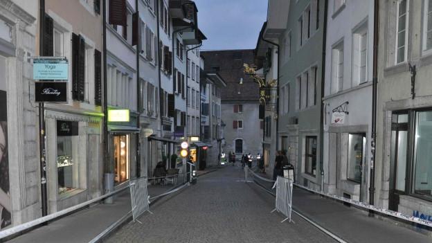 Der Unfall ereignete sich am Freitagabend in der Solothurner Altstadt.