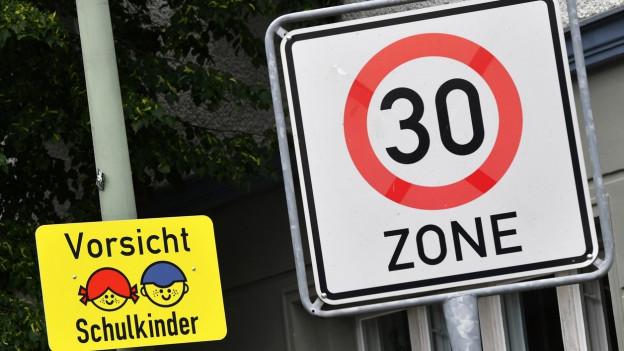 Tempo 30, nein Danke! Spreitenbach will auf eine solche Zone verzichten, auch wenn der Gemeinderat die Idee gut fände.
