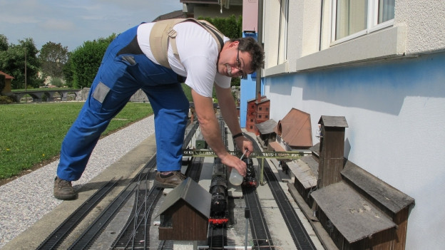 Markus Probst fertigt exklusive Eisenbahnmodelle für die ganze Welt.