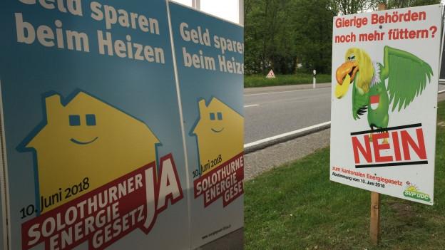 Kampf mit harten Bandagen: Das neue Solothurner Energiegesetz polarisiert.
