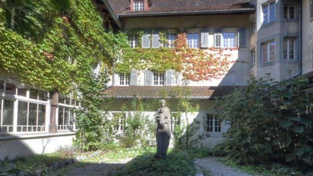 Das ehemalige Kapuzinerkloster in der Stadt Solothurn.