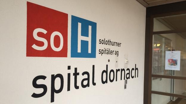Kein Erweiterungsbau für das Spital Dornach. Der Solothurner Spitäler AG fehlt das Geld.