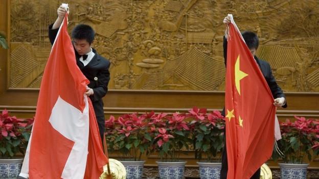 China und die Schweiz: Eine lange und schwierige Beziehung