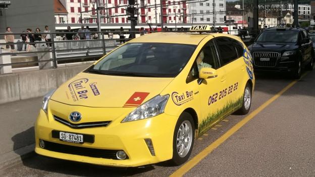 Strengere Regeln für Taxis in Olten