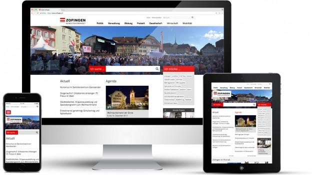 Amtliche Publikationen in Zofingen gibt es ab Juli nur noch elektronisch anstatt gedruckt.