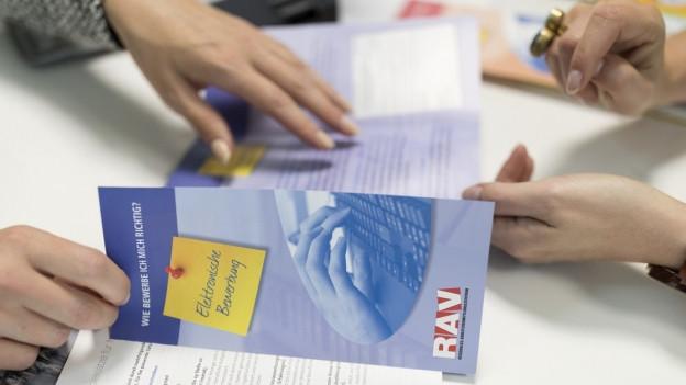 Broschüre des RAV.