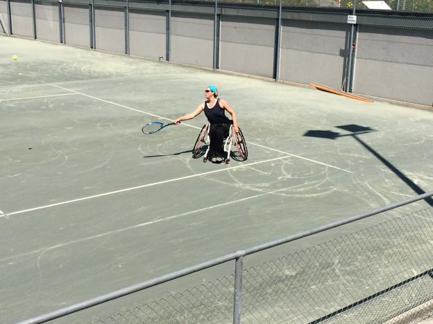 Karin Suter-Erath wollte eigentlich mit dem Spitzensport aufhören, aber das sieht jetzt anders aus.