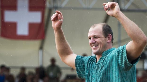 Bruno Gisler wird 35 und will mehr Zeit für Familie und Bauernbetrieb.