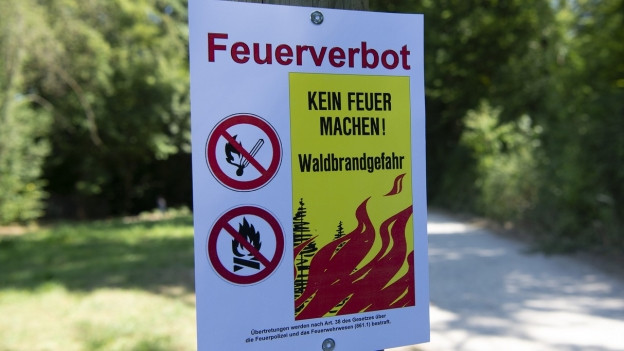 Im ganzen Aargau sind Feuer im Freien verboten. Im Kanton Solothurn gibt es Einschränkungen.