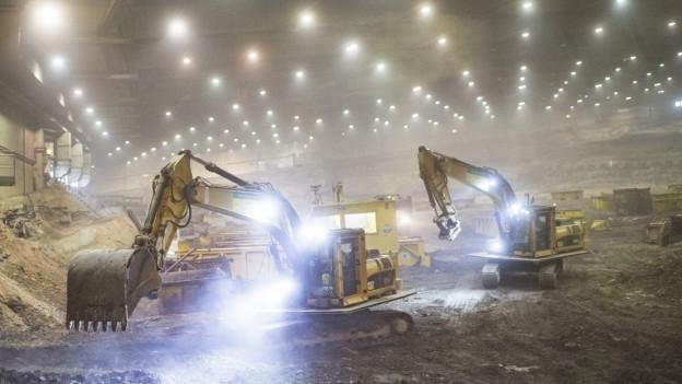 In den vergangenen Jahren wurden 500'000 Tonnen Sondermüll ausgegraben, sortiert und entsorgt.
