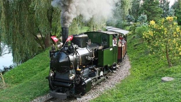 Das Gartencenter Zulauf kann seine neun Dampflokomotiven nicht einsetzen. Nun müssen Dieselloks die Gäste befördern.