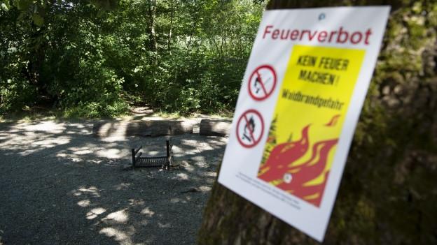 Feuerverbot in Aargauer Wäldern ist wieder aufgehoben.