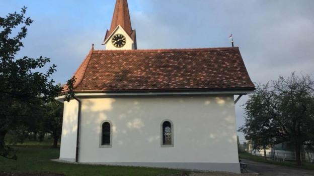 Die Kapelle von 1720 erstrahlt in neuem Glanz, dank Hilfe aus der ganzen Region.