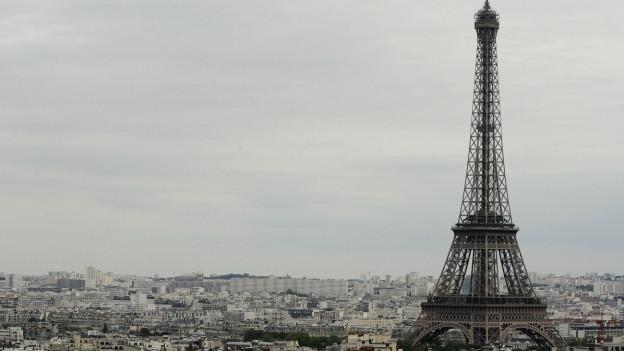 Paris mit dem Eiffelturm