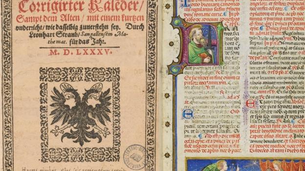 Alte Drucke und Handschriften aus der Solothurner Zentralbibliothek stossen weltweit auf Interesse.