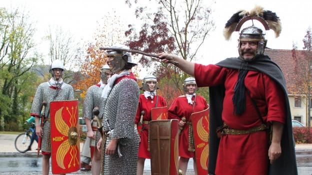Römer haben auch ihre Sprache in den Aargau gebracht.