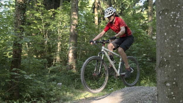 Von der Bergstation bis ins Tal sollen künftig Biker fahren können.