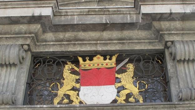 Das Regierungsgebäude des Kantons Solothurn.