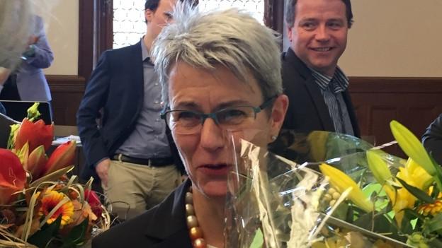 Verena Meyer (FDP) wurde mit einem Glanzresultat zur höchsten Solothurnerin gewählt – sie erhielt 97 von 97 Stimmen.