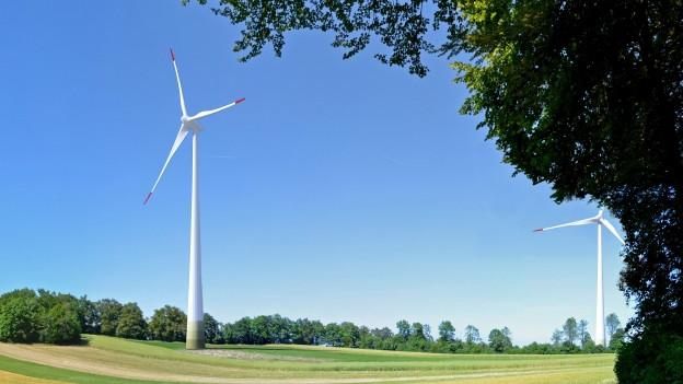 Kienberger sagen «Ja» zum Windpark.