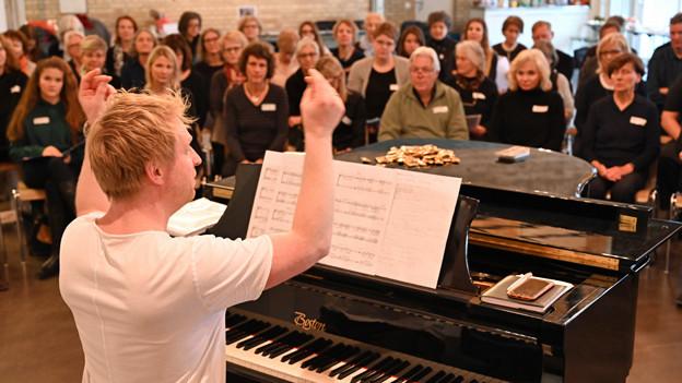 Probe der Swiss Gospel Singers in Aarau