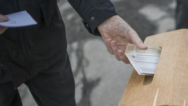 In der Stadt Solothurn sind falsche Wahlzettel im Umlauf