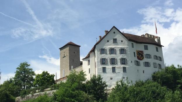 Ist Der Fels Zu Klein Für Schloss Wildenstein Und Bauernhof