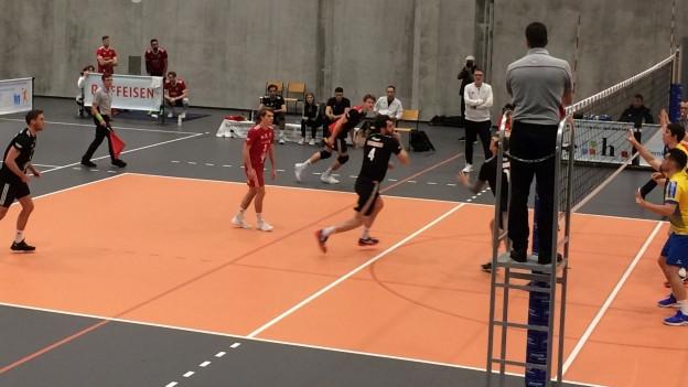 Spielszene Volleyball