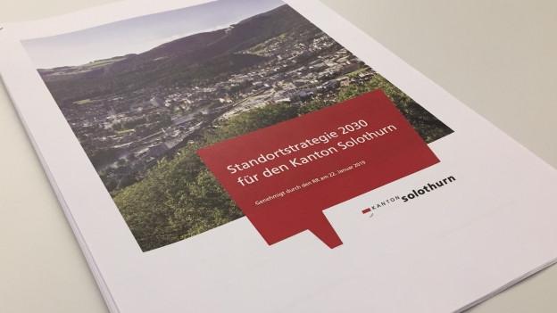 Nur ein weiteres Papier oder eine Hilfe für die künftige Wirtschaftsförderung? Die neue Solothurner Wirtschaftstrategie.