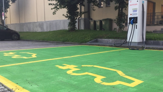 Die AEW will E-Mobilität fördern